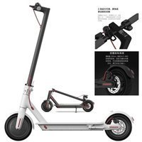 Electric scooter folding adult walking 8.5-inch driving portable aluminum alloy two wheels