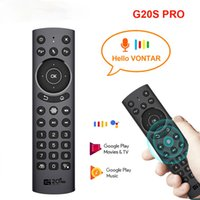 G20S Pro Smart Air Mouse Backit Voice Remote Control Gyroscope G20S IR Learning for Android tv box KM6 H96 X96 Max Plus Laptop Computer