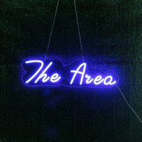 The Area LED Neon Sign