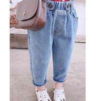 VIDMID 2021 new Korean girl loose jeans radish casual pants P4032 210317