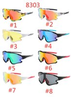 New Riding Cycling Sunglasses UV400 Protection Sports Glasses Goggles Bicycle Mountain Bike Glasses Men Women Road Eyewear 8303