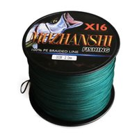 Braid Line MOZHANSHI 16 Strands 500M Super Strong 0.16MM-2.5MM 100% PE Braide Multifilament Fishing Material From Japan