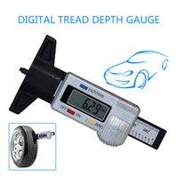 Novo mini carro LCD Digital Display Digital Passe de Profundidade 0-25.4mm ABS Digital VERNIER VERNIER CALIPER MM / Inch interruptor automático desligado