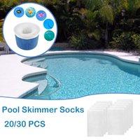 Pool & Accessories Baskets Skimmers Skimmer Socks Filter Basket Reusable Mesh Sock Supplies Tubs