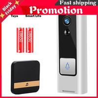 Doorbells WiFi Video Doorbell Camera 1080P Home Door Bell Wireless Smart Intercom Mini Life