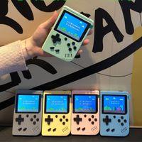 5 ألوان المحمولة المعكرون المحمولة لعبة فيديو اللاعبين يمكن تخزين 800 نوع من الألعاب الرجعية الألعاب وحدة التحكم 3.0 بوصة شاشة LCD الملونة مع شعار