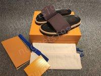 2021 слайды натуральные кожаные сандалии тапочки легкие мужские и женские шлепки регулируемые верхние с коробкой доставки