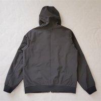 Yeni Gelenler 19FW Q0222 Yumuşak Shell-R Ceket Fashional Sonbahar Kış Ceketler Işık Tasarımcısı Erkek Ceket Moda Kazak S-3XL