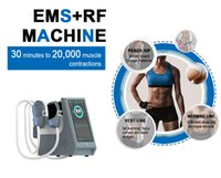 Portable 4 Handles HIEMT RF High Intensity Focused Electromagnetic Body sculpt Machine Muscle Building Fat Burning Slimming ems Muscle Stimu