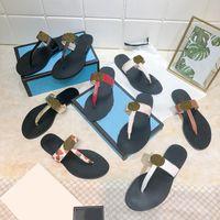 Scarpe sandali in pelle da donna Slift flip flops estate moda larga sdrucciolevole con doppio metallo nero bianco pantofole da pantofole slipper flip-flop sandali spiaggia