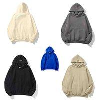Мужские толстовки теплые с капюшоном 100% хлопчатобумажный материал O-образным вырезом пуловер толстовка Различные цвета Одежда мужская одежда S-XL размер
