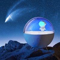 침실 수면 호흡 램프 어린이 터치 컨트롤 충전식 귀여운 야간 조명 베이비 보육 선물 USALight