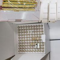 k 금속 vape 카트리지 포장 0.8ml 분무기 흰색 패키지 상자 기화기 펜 카트리지 유리 탱크 오일 빈 vapes 펜 10 색 분무기 스티커