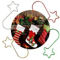 크리스마스 장식 80 / 160pcs 나무 교수형 장식 S 후크 하드웨어 펜던트 스타 모양의 후크 세트 mulit-color Xmas 행거