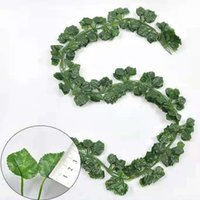 Garden Decorations Simulated grape leaf vine strip green plant tree artificial flower plastic