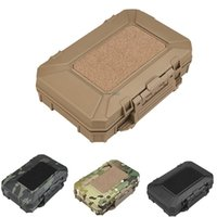 Stuff Sacks Tactical Equipment Box Waterproof MOLLE Military Training Storage Toolbox Pouch Hang Shooting Hunting Cs Multi-function Cases