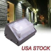 LED Wandleuchten Lichter Repoces 80W 5400lm Outdoor Commercial Beleuchtung 150w Wasserdichte Montage Sicherheitsleuchte 6000k Straßenlaterne