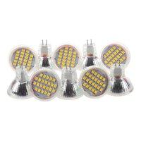 Bulbs 10pcs MR11 GU4 Warm White 3528 SMD 24 LED Home Spotlight Light Lamp Bulb 1W 12V