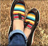 Sapatos casuais preguiçoso Grande Outono Casual Outono 2020 New Flat Bottom Leopard Imprimir Pé Lok Fu 8LPQ 4B8B Vass