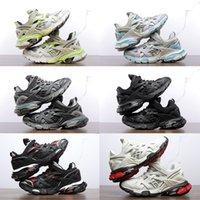 Top Quality Factory Shoes Designer Direct Paris 4.0 Track4 TRIPLES Casual DAD DAD UOMS WORDENS TRACK TRIPLE BLACK BLACK BIANCO GYM ROSSO GRIGIO PIATTAFORMA AMADINI ANAMATORE SNEAKERS 36-45