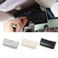 Car Organizer Auto Dedicated Glasses Box Storage Holder Reading Light Sunglasses Case For X5 F15 X6 F16 2013-19 Interior Accessories