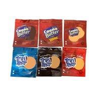 Boş 250 mg 500mg Canna Tereyağı Bite Gezileri Ahoy Çanta Koku Geçirmez Ambalaj Çikolata Yenilebilir Çerez Çanta Kızarmış Pirinç Tahıl Mylar Çanta