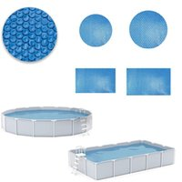Pool & Accessories Swimming Cover Round Rectangular Waterproof Tub Dust Outdoor Tarpaulin Bubble Heat Preservation