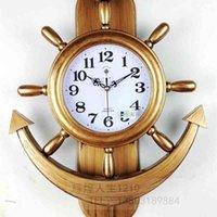 Руль Swing Mute Настенные Часы Индивидуальность Мода Творчество Домашняя Роскошная гостиная Атмосфера Хоролог Ш190924