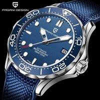 PD-1667 Moda Automatic Watch Top Blue Silicone Meccanico Orologio meccanico Giapponese NH35A Movimento Orologio da polso