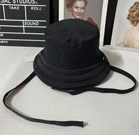 Klasik Mektuplar Baskı Geniş Brim Şapka Açık Güneşlik Pamuk Balıkçılık Avcılık Balıkçı Kap Erkekler Havzası Chapeau Kova Şapka