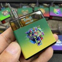 2021 전자 담배 RGB 조명 충전식 Randm 현혹 킹 일회용 장치 vape 펜 3000 퍼프 포드 스타터 키트 8ml 카트리지 바 ecigs