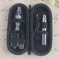 Hot Ego-T Starter Kit Ecigs Стеклянный глобус Испытание для испарителя лампы Acolizer Wax Сухие травяные испарители Распылитель с 1100 мАч EGO T Vape Peen Case Casts