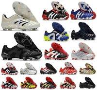 Homens Predador Absolute 20 Acelerador eterno Classe 20+ Sapatos de Futebol Mutador Mania Tormentor Eletricidade Precisão 20 + x FG Beckham Zidane
