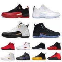 Zapatos Nikeair jordanretro 12jordans12s Low Easteroffwhite Retro 12 para mujer 12s Juego de la gripe Jumpman oscuro Concord Universidad ovo Bulls para hombre Mujer