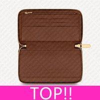 ÜST. M62581 newversion ikonik zippy organizatör faturaları uçak bileti cüzdan tasarımcı bayan erkek fermuarlı sikke çanta pasaport kartı çek defteri tutucu kapak cüzdan n60111