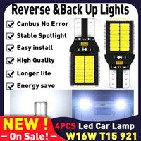 W16W LED T15 921 Лампы Canbus на автомобилях Аксессуары Автомобильные товары Авто диодная лампы Обратные огни для IX35 I30 I40 I20