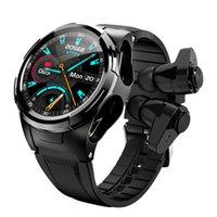 S201 2 in 1 Smart Watch Waterproof BT earbud wireless earphone headphone 2022 New JM06 Pro