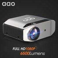 AAO YG620 Full Projector Native 1920 x 1080P 3D PROYCTORT YG621 Wireless WiFi Smartphone MINI-schermo Mini HD Home Theater