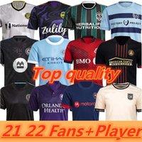 MLS 20 21 Atlanta United FC Soccer Jersey 2021 2022 York City La Galaxy Football Shirts Version joueur Inter Miami CF Tops Beckham Shirt