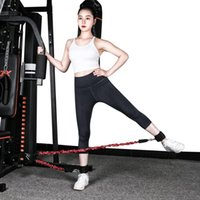 Resistance Bands Yoga Elastic Pull Rope Set Exercise Arm Trainer Gym Handle Equipement Fitness Workout Belt