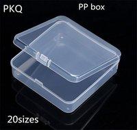 Storage Boxes & Bins 50pcs 20 Sizes Small Plastic Box Jewelry Diamond Painting Embroidery Craft Bead Tool Home Organizers