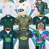 2019 2020 África Camisa Africano 100th Anniversary 2019 Campeão Conjunto Versão Nacional Team Rugby Jersey Camisas Sul