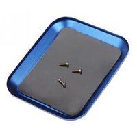 Tablett Werkzeuge Legierung Schraube Fach mit Magnetisch für RC Modell Telefon Reparatur Modell Schraubplatte Teile Zubehör