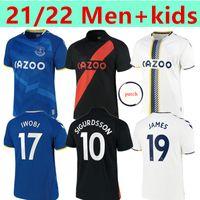 21 22 James Rodriguez Fotbollströja Richarlison Allan Calvert Lewin Digne Doucoure Fotbollskjortor Hem iväg 3: e 2021 2022 Män + Kids Kits Sport Uniforms