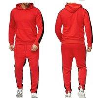 Moda Tasarımcısı erkek Eşofman Hoodie Casual Giyim Renkli Peluş Koşu Takımı Rahat Pantolon Suits-3XL