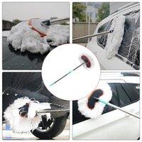 Car Washer 95Cm Wash Cleaning Brush Milk Silk Microfiber Telescoping Tool Care Dust Mop Dirt Duster