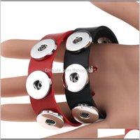 Bijoux18mm Knot Ginger Bricolage Snaps Buttons Charm Sier Fit Snap Bijoux Bracelets en cuir PS1332 Drop Livraison 2021 WVA6W