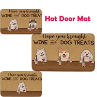 Teppiche benutzerdefinierte toormat personalisierte Haustierhund po po goor / outdoor teppich türmatte rutschfeste küche wohnzimmer boden teppich