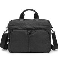 الرجال محمول حقيبة الأعمال 14 بوصة دفتر الكتف رسول حقيبة الكمبيوتر حقيبة crossbody حقيبة حقيبة حقيبة حقائب الذكور LJ201012