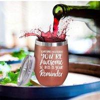زجاجات المياه الهدايا الملهمة في بعض الأحيان تنسى أن هي قارورة فراغ النبيذ رهيبة كأس الشرب في الهواء الطلق